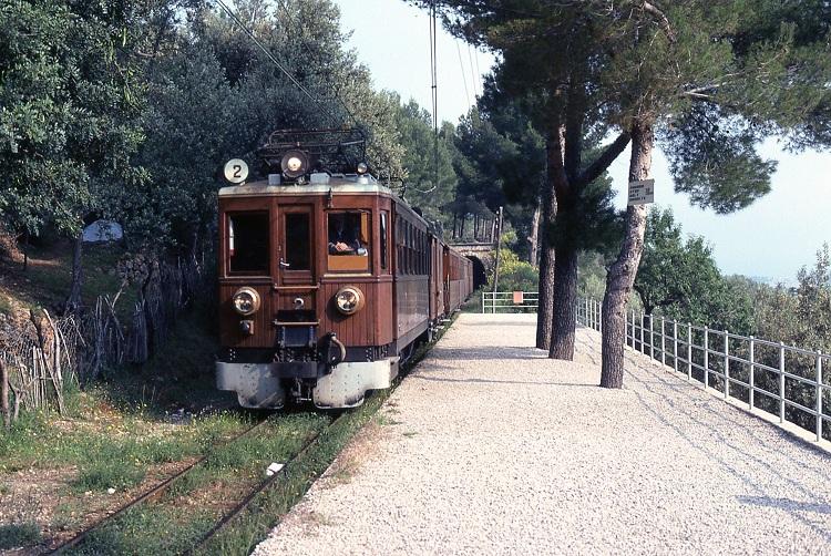 Train ride Palma to Soller Majorca