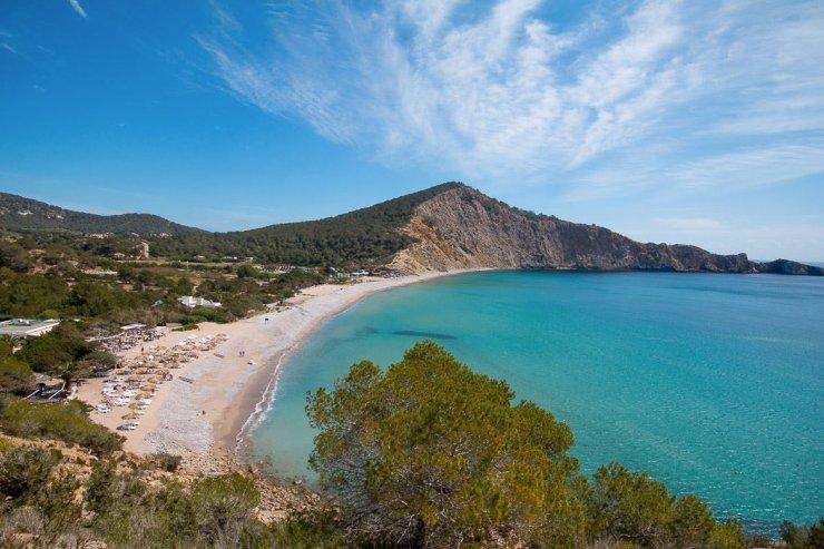 Cala Jondal beach, Ibiza